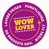WOW air badge