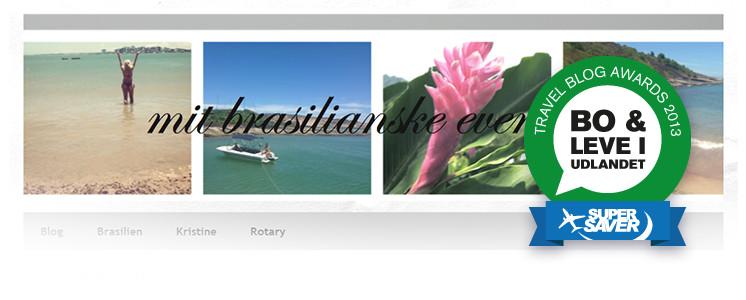 Bedste blog om at bo og leve i udlandet - Travel Blog Awards 2013